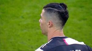 گل دوم یوونتوس به کالیاری با دبل رونالدو (پنالتی)