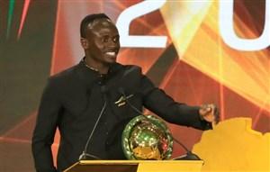 سادیو مانه برترین بازیکن قارهی آفریقا در سال 2019