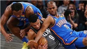 خلاصه بسکتبال بروکلین نتس - اوکلاهاما سیتی