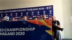 نشست مطبوعاتی حمید استیلی پیش از بازی ازبکستان