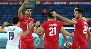 خلاصه والیبال ایران 3 - قزاقستان 0 (انتخابیالمپیک)