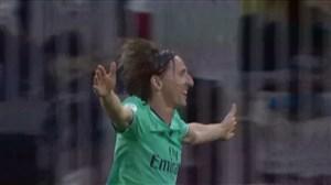 گل سوم رئال مادرید به والنسیا (مودریچ)