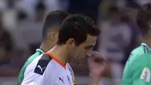 گل اول والنسیا به رئال (پارخو-پنالتی)