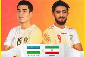 خلاصه بازی امید ازبکستان 1 - امید ایران 1