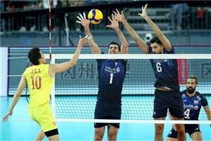 ایران 3 – چین 0؛ فقط 2 گام دیگر تا المپیک