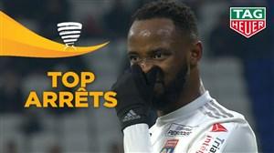 سیوهای برتر مرحله یک چهارم نهایی جام حذفی فرانسه