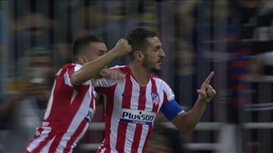 گل اول اتلتیکو مادرید به بارسلونا توسط کوکه
