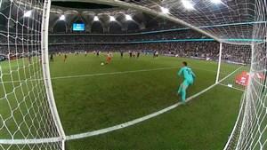 گل دوم اتلتیکو مادرید به بارسلونا توسط موراتا (پنالتی)