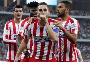 گفتگو با کاپیتان اتلتیکو درباره بازگشت رقابتهای فوتبالی