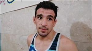 امیر حسین حسینی قهرمان رقابت های جام تختی(70 کیلوگرم)