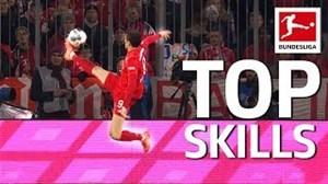 10 تکنیک ناب از بازیکنان بوندسلیگا