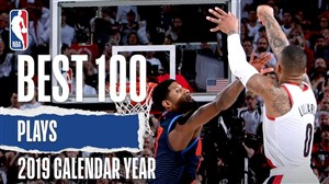 100 حرکت برتر بسکتبال NBA در سال 2019