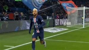 گلزنی نیمار برای پاریسنژرمن برابر موناکو