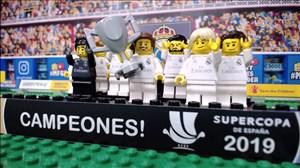 شبیهسازی قهرمانی رئال مادرید در سوپرکاپ اسپانیا با لگو