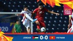 خلاصه بازی امید اردن 0 - امید ویتنام 0