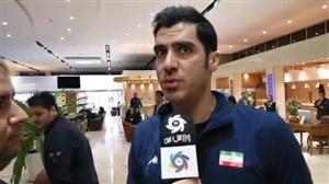 شهرام محمودی: شب فینال نتوانستیم بخوابیم