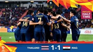 خلاصه بازی امید تایلند 1 - امید عراق 1 (زیر23 سال)