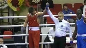 موفقیت اولین بوکسور تیم ملی ایران در نخستین مسابقه