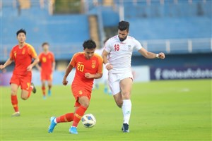 خلاصه بازی امید چین 0 - امید ایران 1