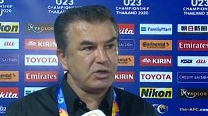 صحبت های استیلی پس از حذف تیم امید ایران