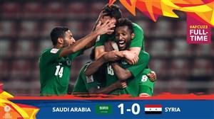 خلاصهبازیامید عربستان 1 - امید سوریه 0 (زیر23سال)
