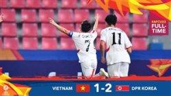 خلاصه بازی امید ویتنام 1 - کره شمالی 2
