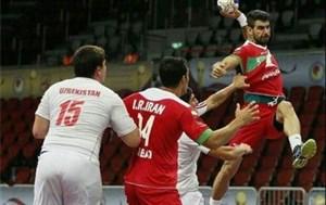 پیروزی هندبال ایران در گام نخست قهرمانی آسیا