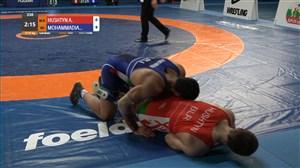 پیروزی محمدیان مقابل حریفی از بلاروس و کسب مدال طلا