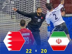 خلاصه هندبال ایران 20 - بحرین 22