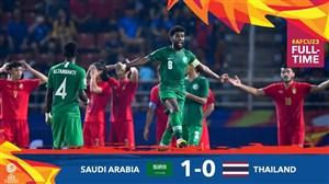 خلاصه بازی امید عربستان 1 - امید تایلند 0