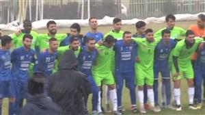لحظاتی از بازی دوستانه استقلال و داماش تهران