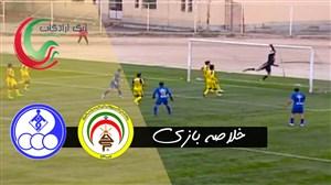 خلاصه بازی فجرسپاسی 0 - استقلال خوزستان 0