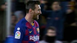 گل مسی به گرانادا با تیکی تاکای جذاب باریکنان بارسلونا