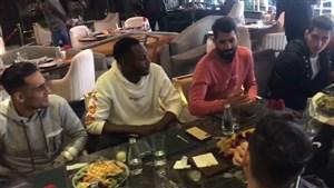 اولین ناهار مشترک پرسپولیسیها با گل محمدی