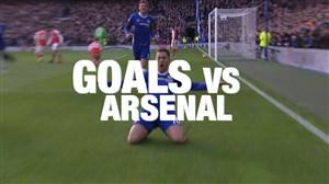5 گل برتر چلسی برابر آرسنال به انتخاب هواداران