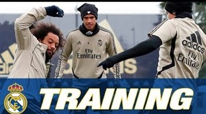 تمرینات رئال مادرید تحت هدایت زیدان