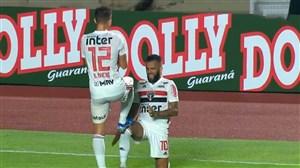 گلزنی دنی آلوز برای سائوپائولو در لیگ برزیل