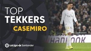 کاسمیرو بهترین بازیکن هفته بیستم لالیگا در فصل20-2019