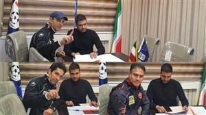 ثبت قرارداد کادرفنی پرسپولیس در هیاتفوتبال