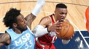 خلاصه بسکتبال مینهسوتا - هیوستون راکتس