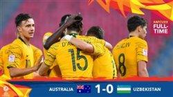 خلاصه بازی امید استرالیا 1 - امید ازبسکتان 0
