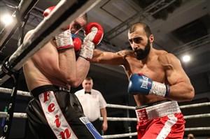 پیروزی محمدعلیبیات بوکسور ایرانی در لندن