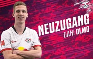اولین حضور دنی اولمو در باشگاه لایپزیش