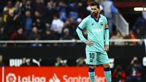 مسی ناکامترین بازیکن هفته 21 لالیگا اسپانیا