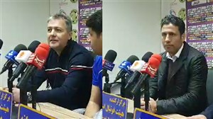 کنفرانسمطبوعاتیاسکوچیچو تارتار پسازدربیخوزستان