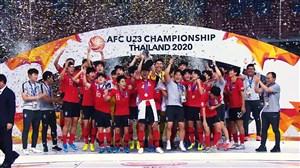 قهرمانی کرهجنوبی در رقابتهای زیر 23 سال آسیا