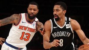 خلاصه بسکتبال نیویورک نیکس - بروکلین نتس