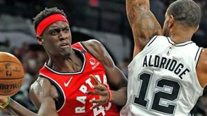 خلاصه بسکتبال تورنتو رپترز - سن آنتونیو