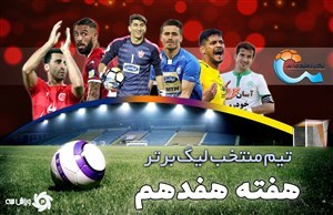 تیم منتخب هفته هفدهم لیگ برتر ایران 99-1398