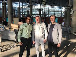 استقبال ویژه از مهاجم ایرلندی پرسپولیس در فرودگاه
